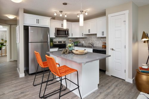 Cranston's Riverstone Brookfield Residential Retreat Riverstone Ivory Kitchen