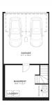 Cranston's Riverstone Cranston_Carmine_Floorplan_Garage