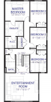 Cranston's Riverstone Hudson2_Floorplan_Upper_4_Bedroom_Option