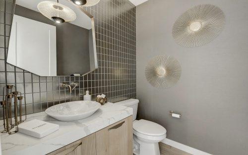 Cranston's Riverstone Brookfield Residential Riverstone Lucca Half Bath