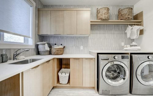 Cranston's Riverstone Brookfield Residential Riverstone Lucca Laundry