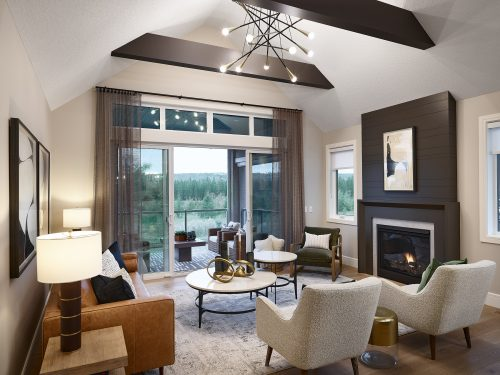 Cranston's Riverstone Calbridge Homes Aston II Living Room
