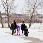 Cranston's Riverstone Riverstone Winter River Family