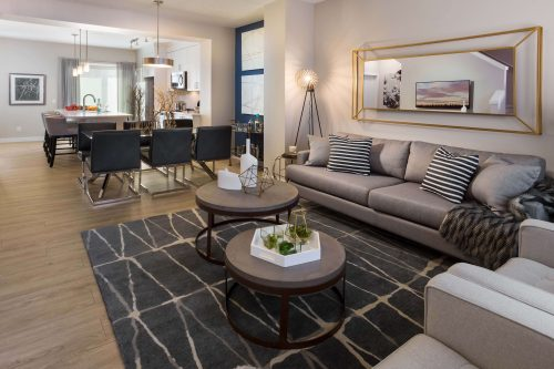 Carmine Dining Area In Symons Gate By Brookfield Residential
