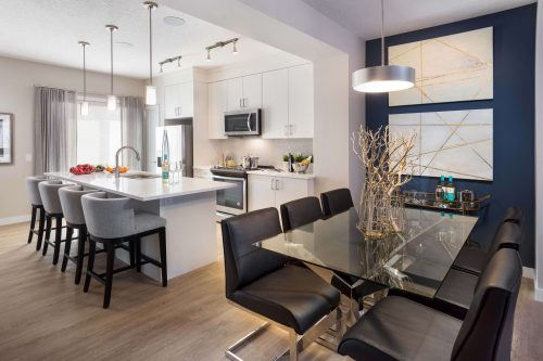Carmine Kitchen In Symons Gate Brookfield Residential