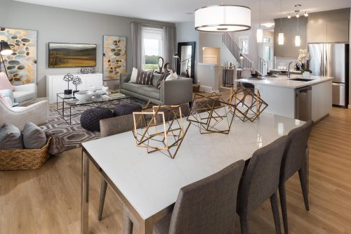 Cheyenne Dining Area In Symons Gate By Brookfield Residential
