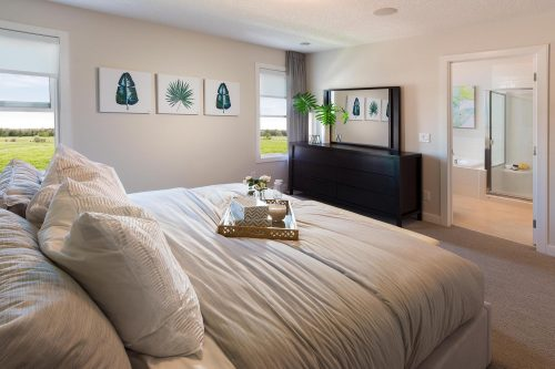 Hudson Master Bedroom In Symons Gate By Brookfield Residential