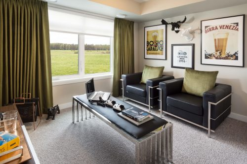 Ivory Great Room In Symons Gate By Brookfield Residential