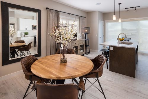 Plum Dining Area In Symons Gate By Brookfield Residential