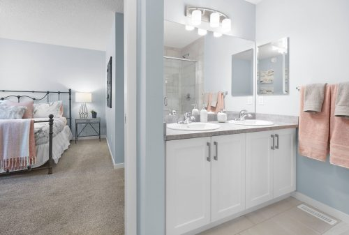 Bathroom And Bedroom In Bellevue Home In Edgemont
