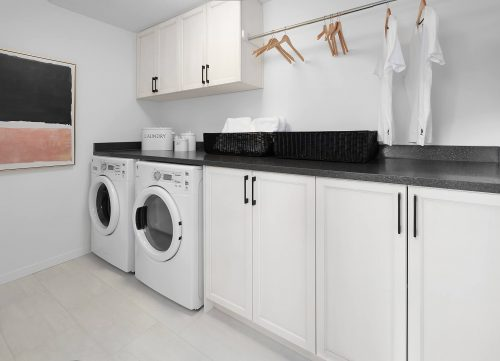 Laundry Room In Dawson Home In Edgemont