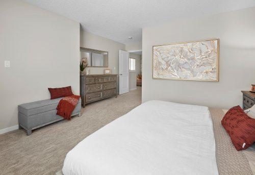 Bedroom View In Palazzo Duplex In Edgemont