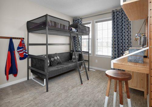 Bedroom Area In Palazzo Duplex In Edgemont