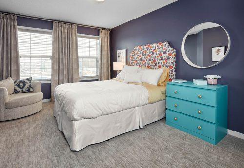 Bedroom View In Palazzo Duplex In Edgemont 1