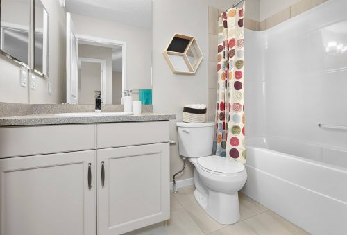 Bathroom Area In Palazzo Duplex In Edgemont