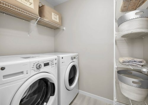 Laundry Room In Palazzo Duplex In Edgemont