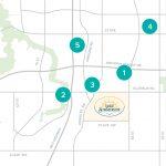 Lake Summerside Shopping Map 1