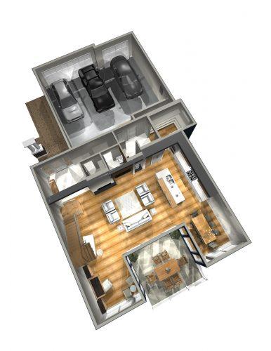 Saville Main Floor Plan In Lake Summerside
