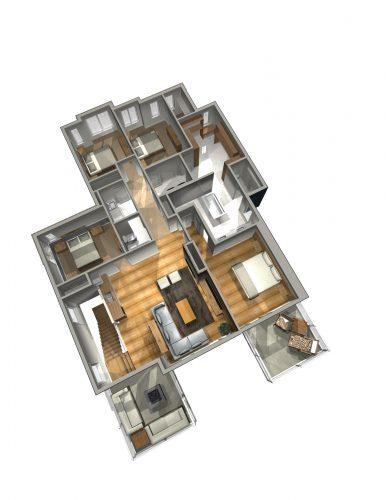Saville Second Floor Floorplan In Lake Summerside