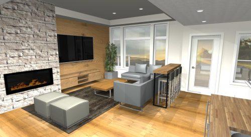 Saville Interior Bonus Room In Lake Summerside