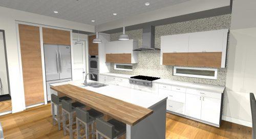 Saville Interior Kitchen In Lake Summerside