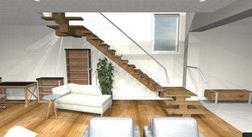 Saville Interior Stairs In Lake Summerside