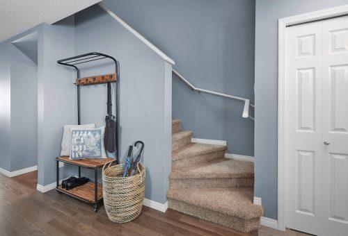 Stairway In Adamo Duplex In Paisley