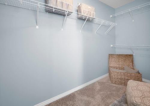 Closet View In Palazzo Duplex In Paisley