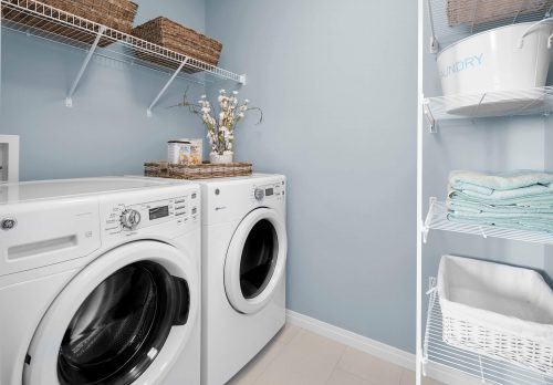 Laundry Room In Palazzo Duplex In Paisley