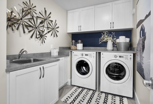 Laundry Room In Robson Home In Paisley