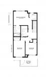 Paisley Michelangelo Upper Floor 3 Bedroom Floorplan