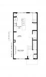 Paisley Van Gogh Main Floor- Kitchen Option 1 Bedroom