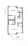 Paisley Michelangelo Upper Floor 2 Bedroom Floorplan