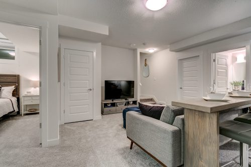 Solstice City Homes North Edmonton Duplex – Basement Suite