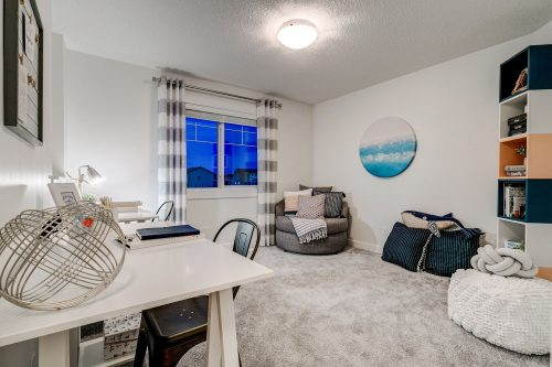 Solstice City Homes North Edmonton Duplex – Bonus Room