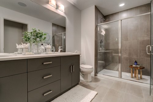 Solstice City Homes North Edmonton Duplex – Ensuite