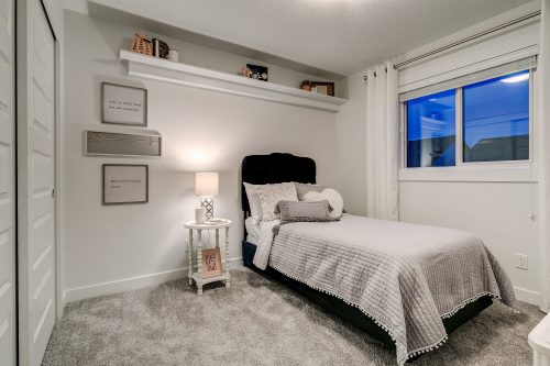 Solstice City Homes North Edmonton Duplex – Kid's Room
