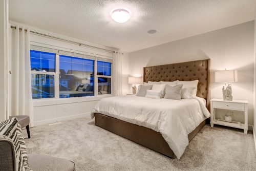 Solstice City Homes North Edmonton Duplex – Master Bedroom