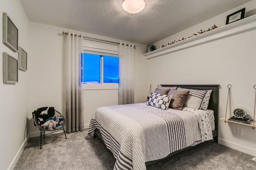 Solstice City Homes North Edmonton Duplex – Spare Bedroom