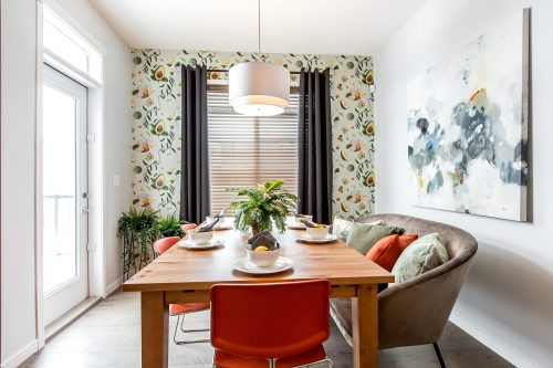 Burton Showhome Dining In Solstice