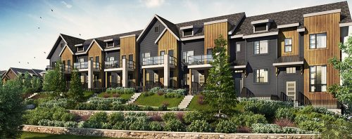 Brookfield Residential The Octave Townhomes Banner