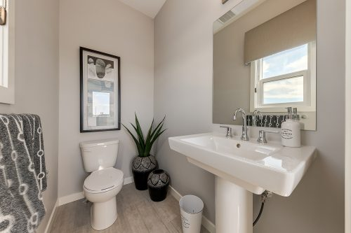 Langley Powder Room In Chinook Gate