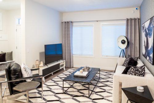 Living Room In Daytona Home Chappelle Gardens 5