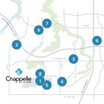 Chappelle Gardens Shopping Map