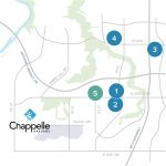 Chappelle Gardens Health And Wellness Map