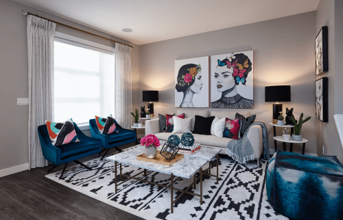 Seton Brookfield Residential Seton Linden Living Room