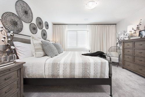 Vivid Master Bedroom In Seton