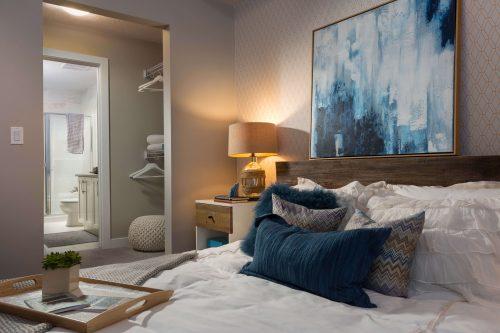 Master Bedroom In Kingston Condo In Regatta Auburn Bay